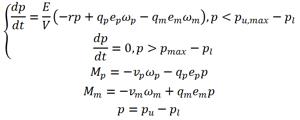 MathematicalModelHydrostaticDriveП
