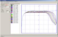 Результаты расчета износа профиля рельса в кривой R = 300 м. Щелкните для просмотра ролика.